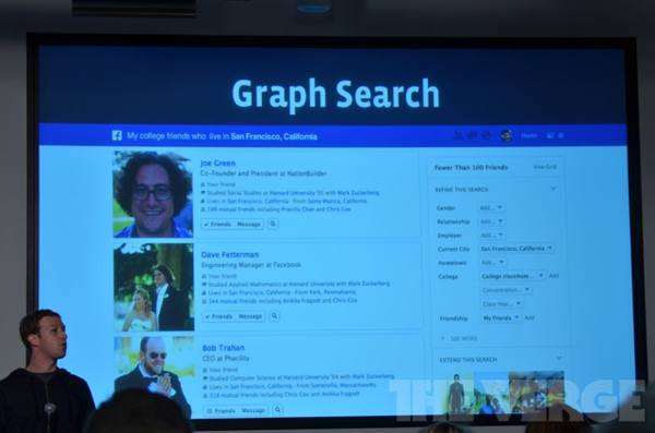 Buscador Facebook Graph Search