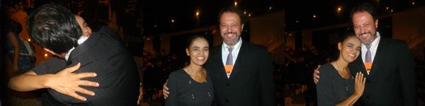 Marcos Masini e Marina Silva | Rede Pró Partido